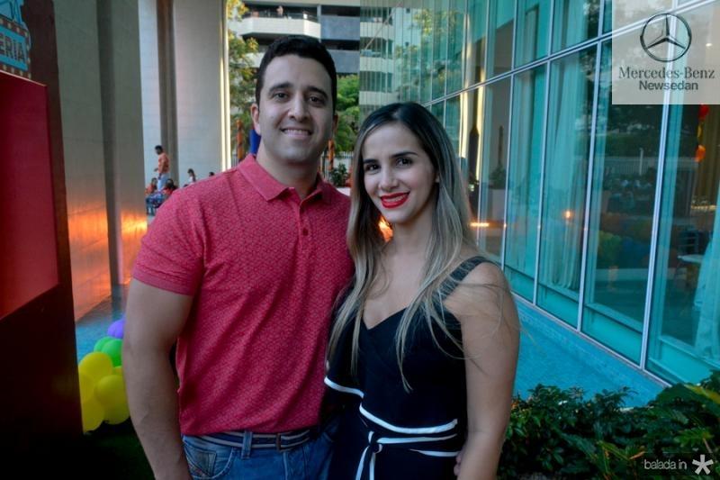 Jeferson Lucena e Andressa Feitosa