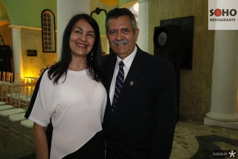 Claudia e Jansen Cunha