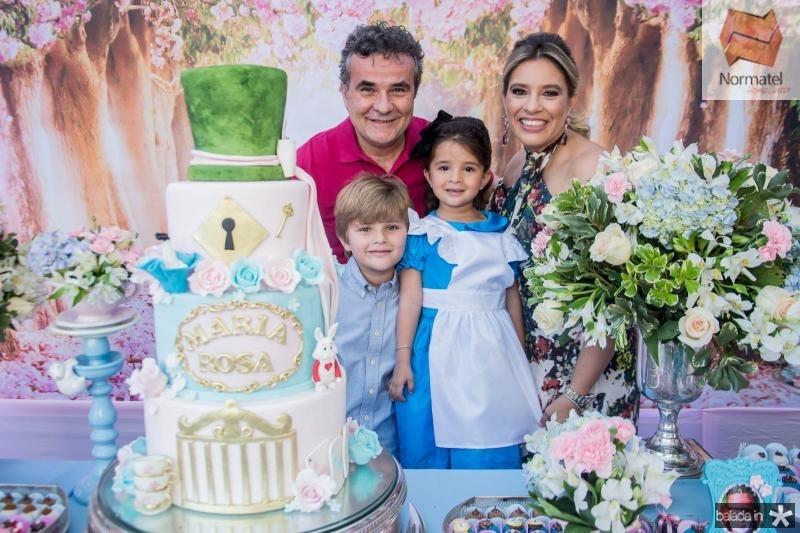 Luiz Carlos, Luiz Neto, Maria Rosa e Ana Claudia Aguiar