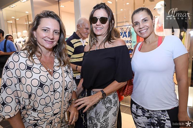 Elen Benevides, Patricia Franca e Claudia Diniz