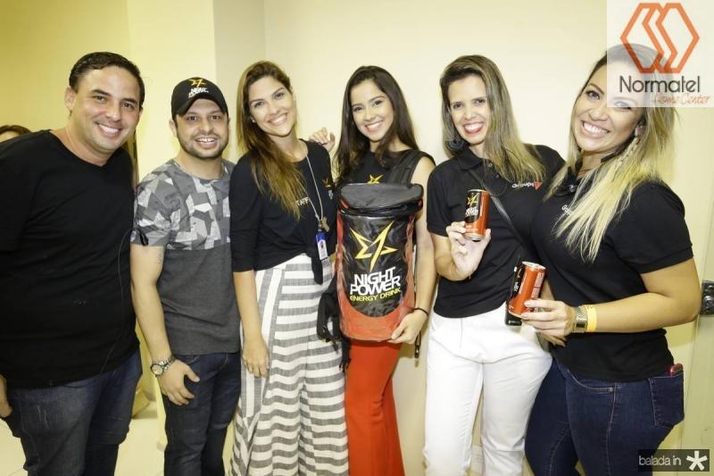 Hugo Eduardo, Adriano Miguel, Liana Lins, Leticia Zingara, Flavia Elisa e Luiza Agrise