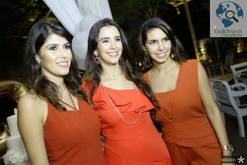 Flavia Simoes, Vivian Barbosa e Carla Laprovitera