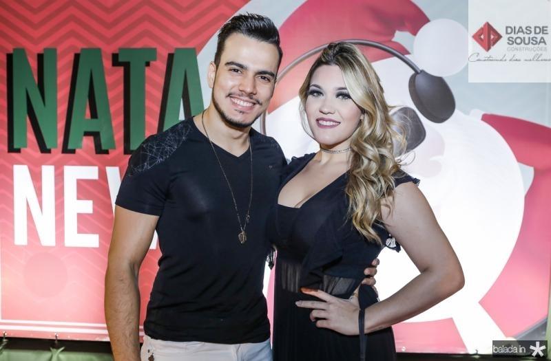 Gabriel Soares e Ianca Marangoni