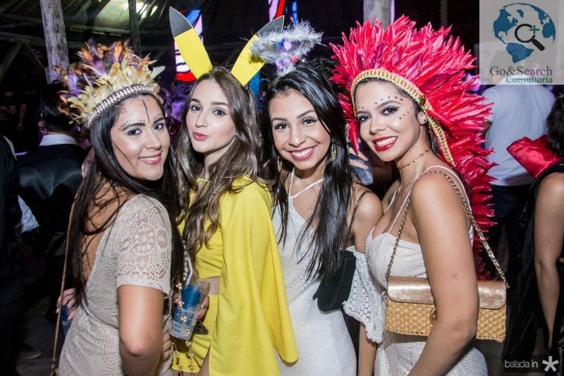 Rebeca Lais, Jennyfer Coelho, Leticia Parnaiba e Leticia Moura
