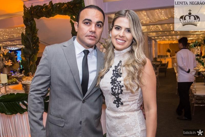 Samuel Cavalcante e Monique Parente
