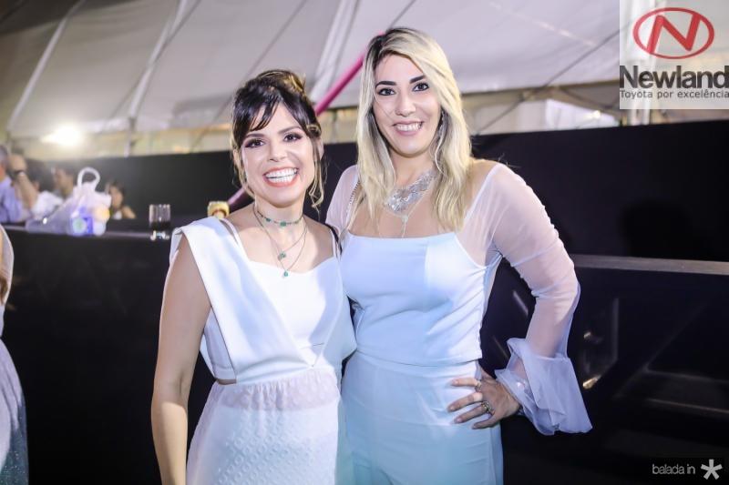 Carol Bezerra e Maria Celia Gomes