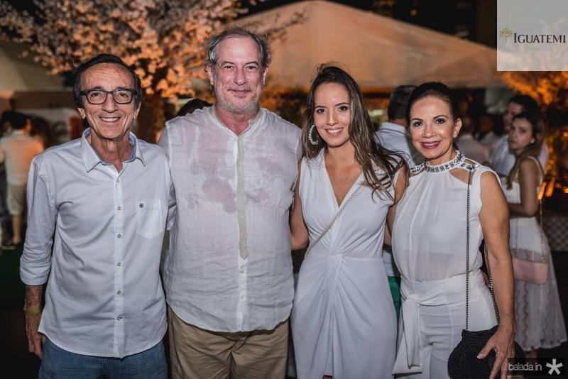 Fernando Bezerra, Ciro Gomes, Giselle Bezerra E Cristina Bezerra