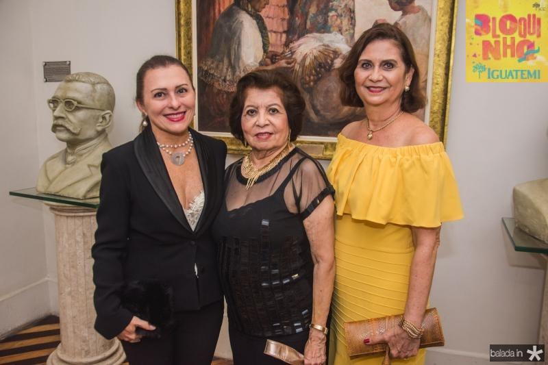 Selma Prata, Edyr Rolim e Marilena Campos