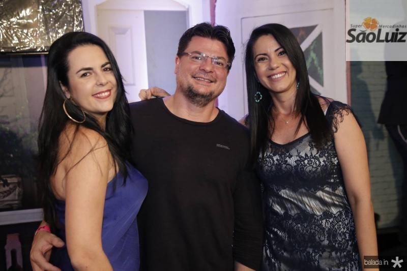 Sarita Furtado, Alex Moreira e Tatiane Lima