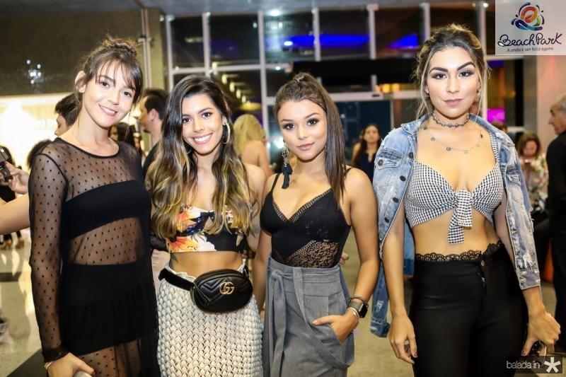 Gabriela Farias, Vitoria Barreto, Alice Viviane e Amanda Amaral