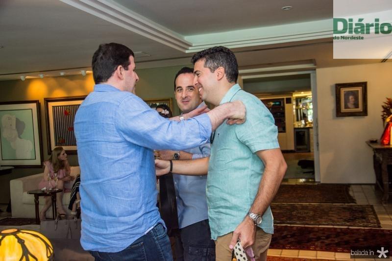 Rodrigo Carneiro, Leonardo Carneiro e Alfeo Simoes