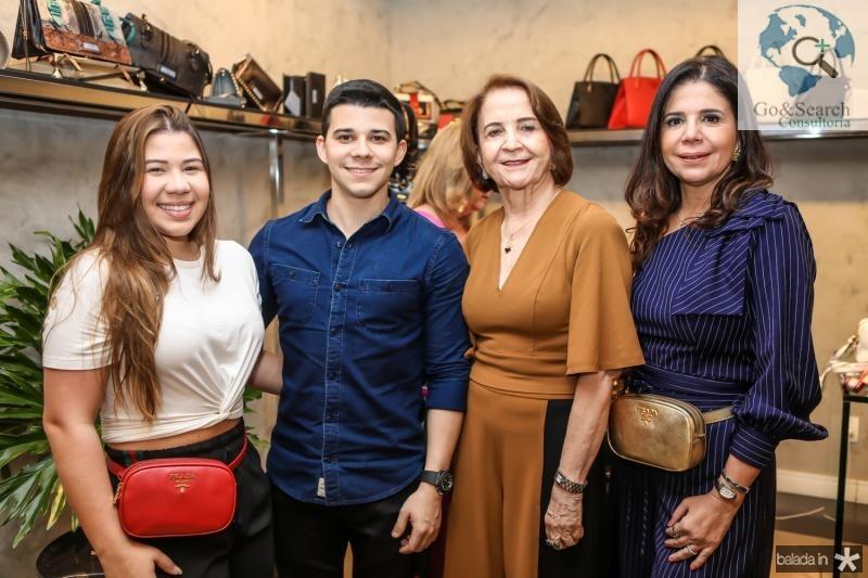 Maria Clara, Pedro, Lenita e Maria Lucia Negrao
