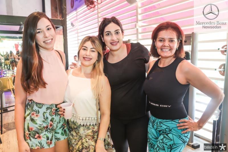 Ivana Macedo, Manoela Alencar, Roberta Vasconcelos e Marri Ana