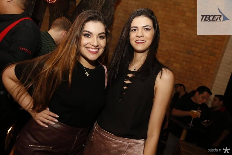 Amanda Donato e Gabriela Sales