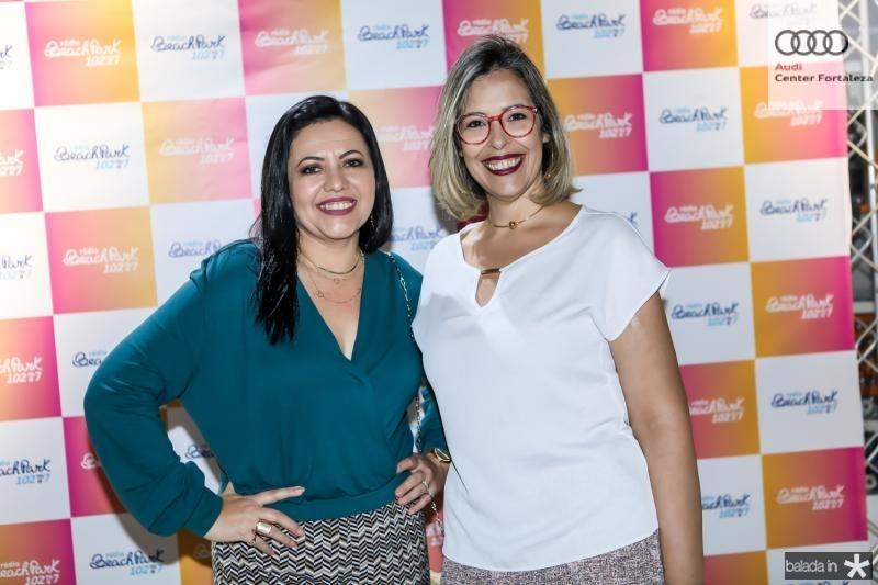 Kezi Vieira e Alessandra Garcia