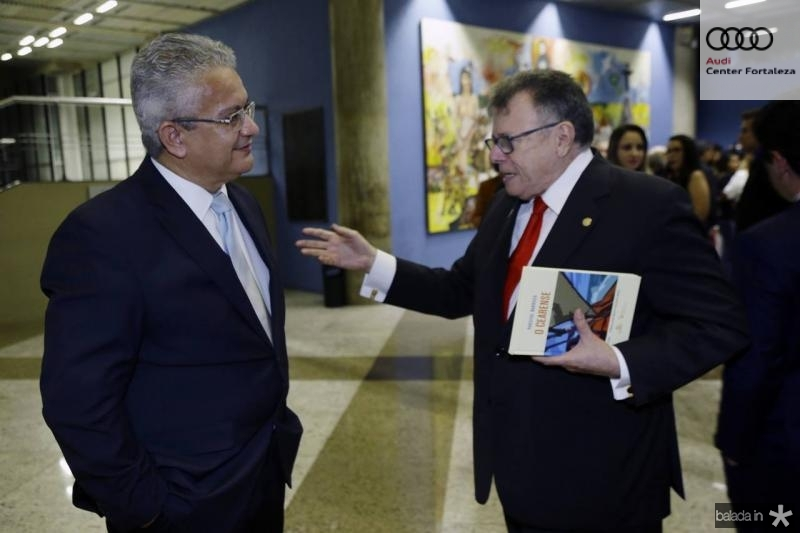 Luiz Sergio Santos e Juarez Leitao
