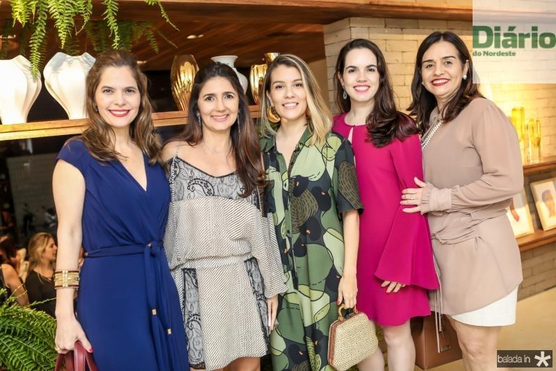 Cristiana Carneiro, Luciana Cidrao, Raina Huland, Roberta Aguiar e Lia Freire