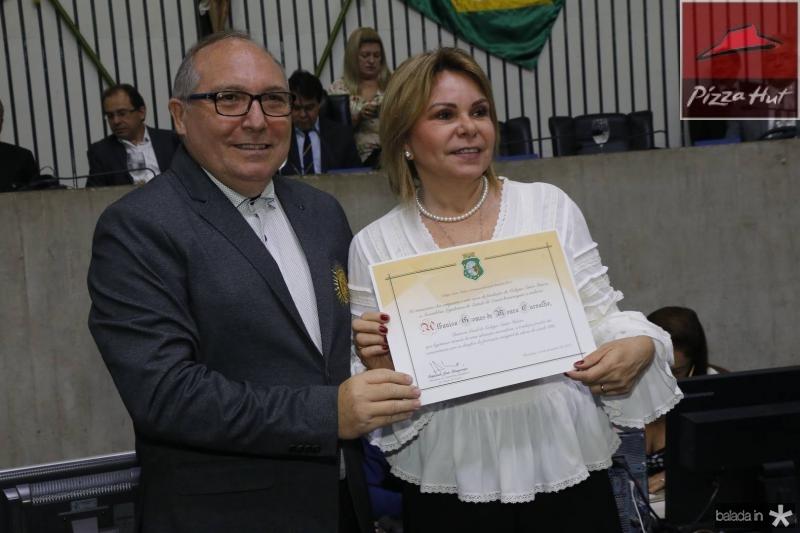 Padre Eugenio e Albaniza Gomes