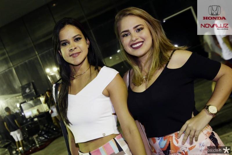 Lu Araujo e Selene Maia