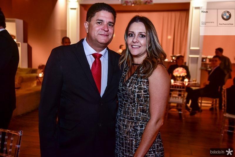 Junior e Raquel Soliman