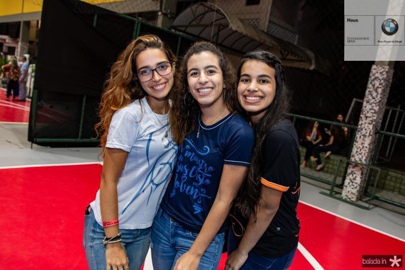 Ana Luiza Sucupira, Leticia Lima e Leticia Cristino