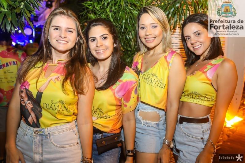 Isabella Viana, Ravena Barbosa, Nara Nogueira e Gabriela Dantas