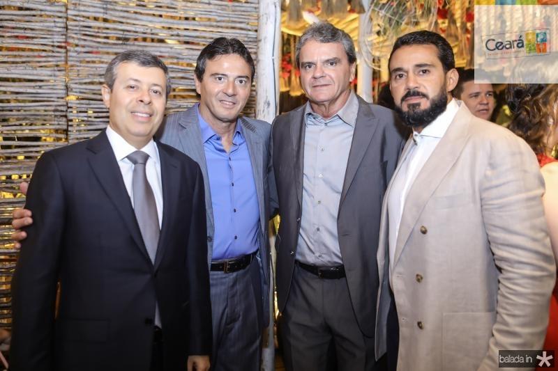 Anastacio Marinho, Luis Teixeira, Joao e Ricardo Carvalho