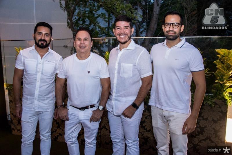 Julio Alves, Marfrense, Reurison Dias e Luis Marfrense