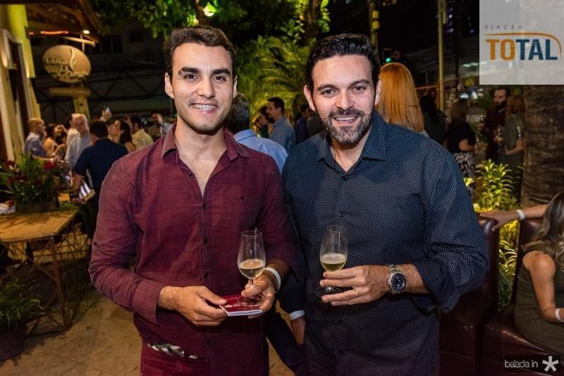 Bruno Calaca e Clovis Holanda