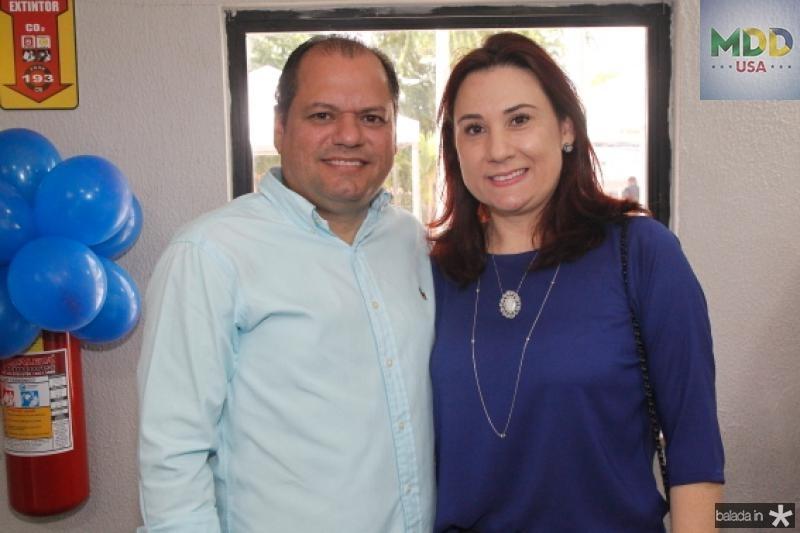 Mauricio Carneiro e Emilia Pessoa