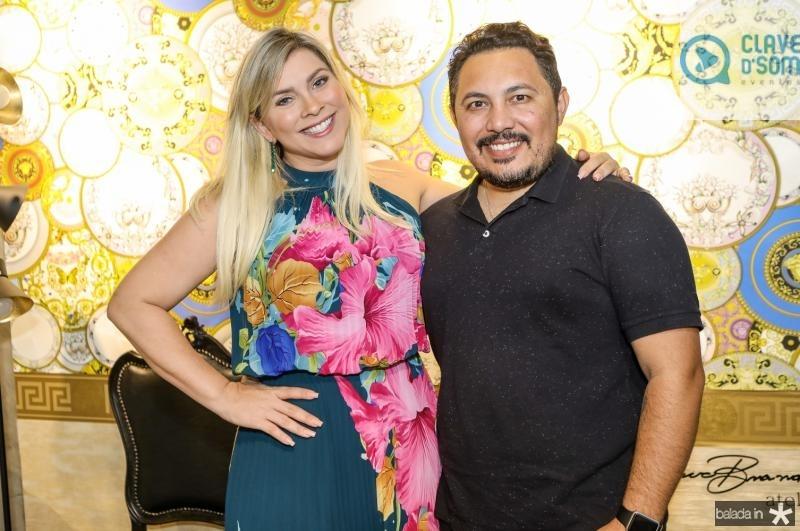 Genice Brandao e Marcilio Sousa