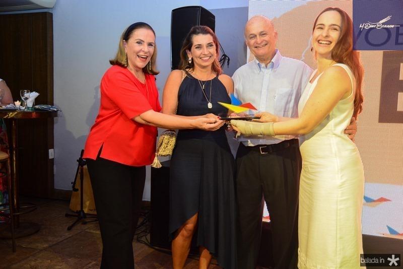Beatriz Fiuza, Marcia Travessoni, Lauro e Bia Fiuza