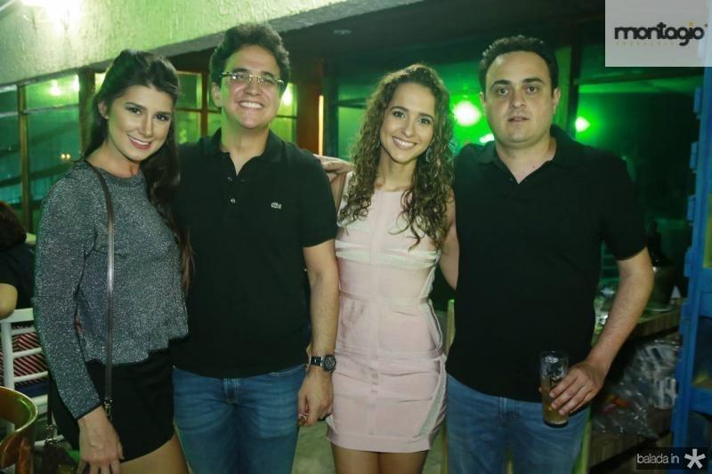 Barbara Moraes, Pantinha Neto, Milena Braga e Lula Alcantara
