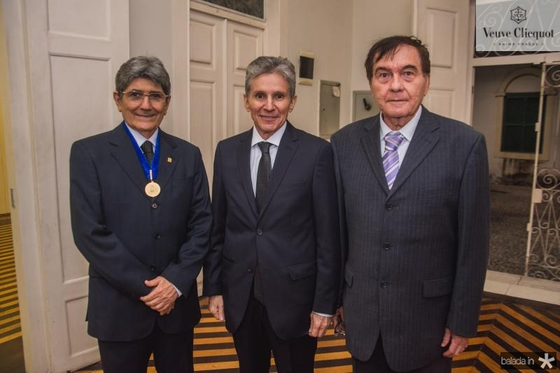Jose Augusto Bezerra, Padua Lopes e Valmito Holanda