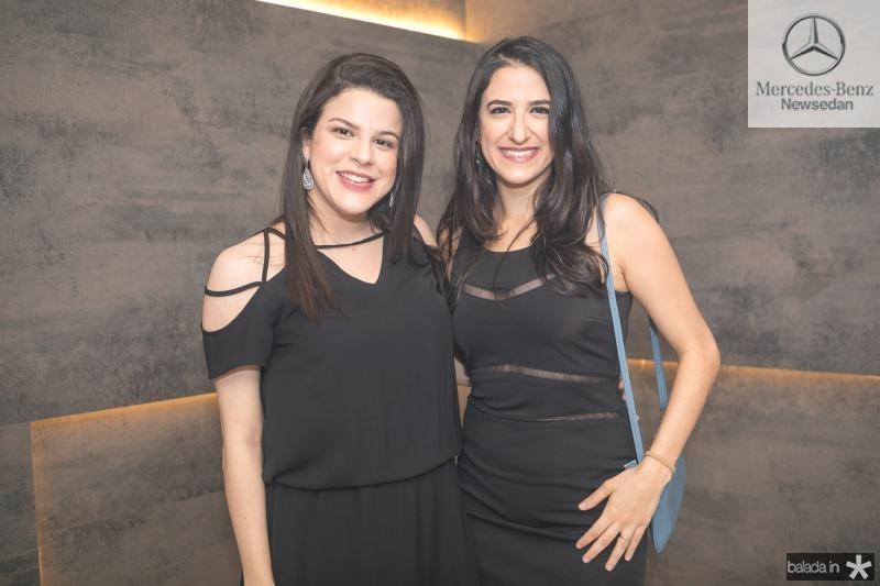 Larissa Cavalcante e Gabriela Benicio