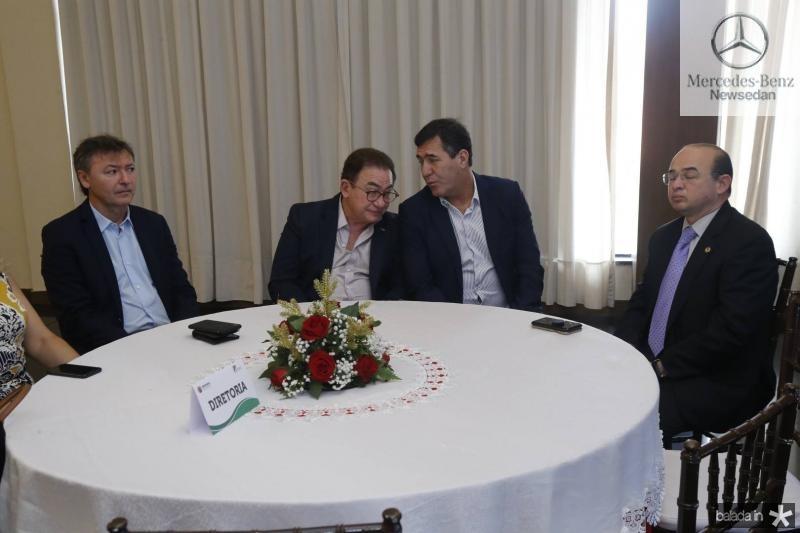 Mauricio Filizola, Manuel Linhares, Luiz Gastao e Sergio Aguiar
