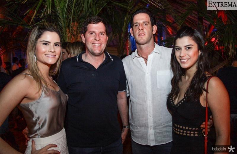 Camile, Rodrigo e Eduardo Carneiro, Manuela Pimenta