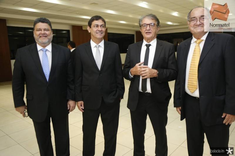 Colombo Cialdini, Bretis de Castro, Arialdo Pinho e Iramar Verissimo