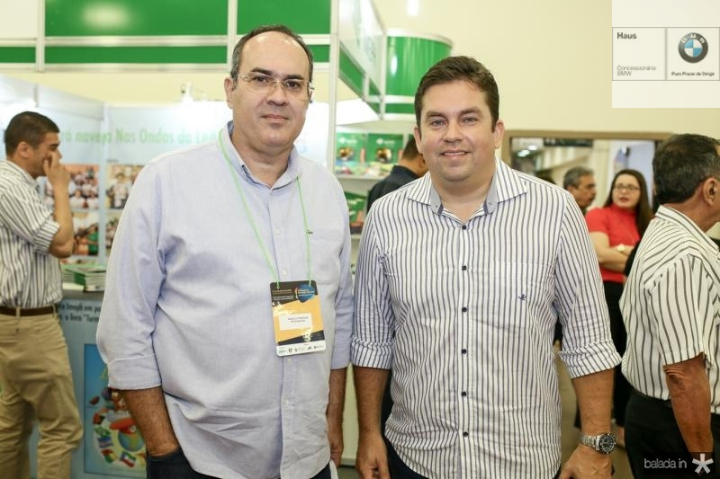 Marcelo Fradique e Eide Gomes
