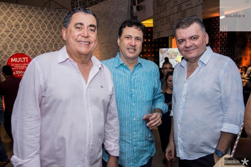 Adroaldo Carneiro, Ricardo Lopes e Omar de Albuquerque