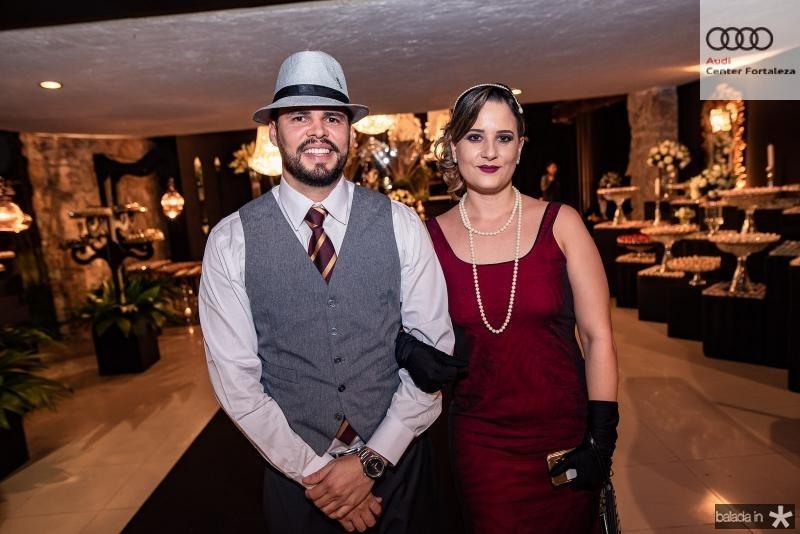 Carlos Ebert e Rafaela Pontes