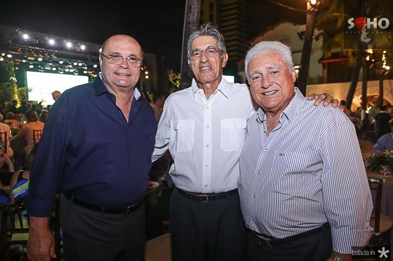 Fernando Gurgel, Jose Issa e Valdir Diogo