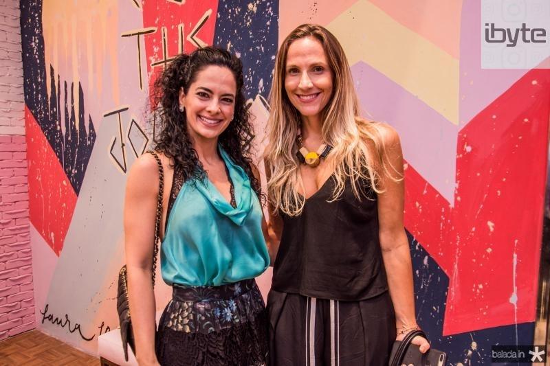 Luciana Fiuza e Amanda Medrado
