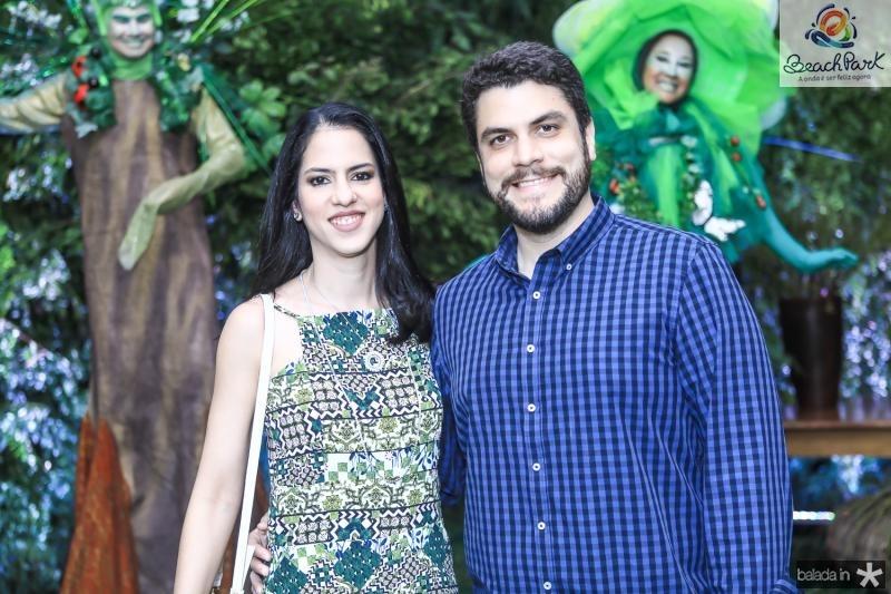 Debora Rocha e Gualter Bezerra
