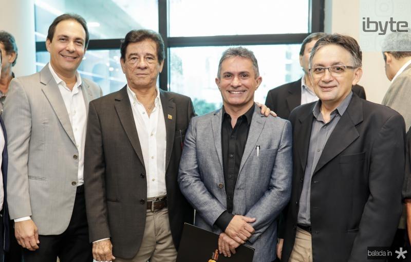 Carlos Queiroz, Elias Carmo, Benildo Aguiar e Ribamar Carneiro