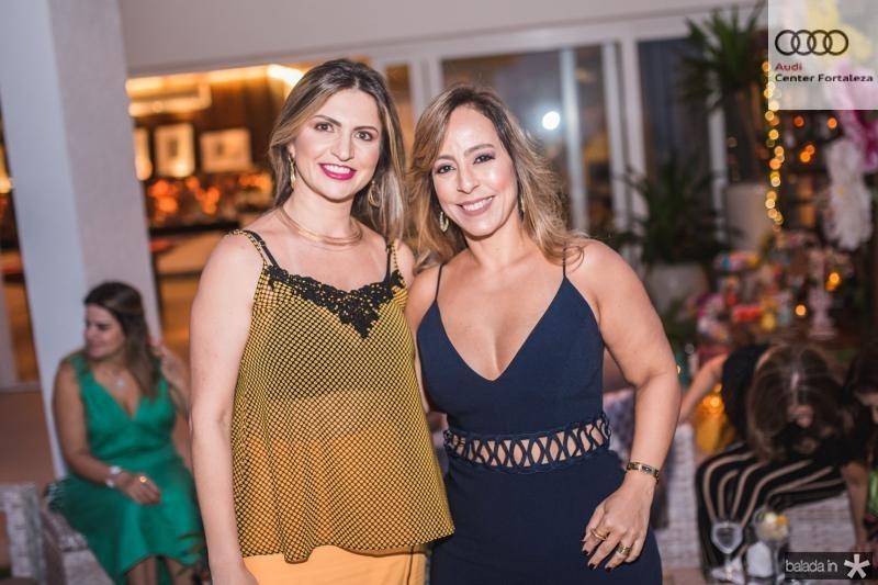 Adriana Arrais e Leticia Macedo