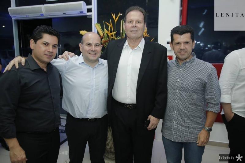 Pompeu Vasconcelos, Roberto Claudio Julinho Ventura e Erick Vasconcelos