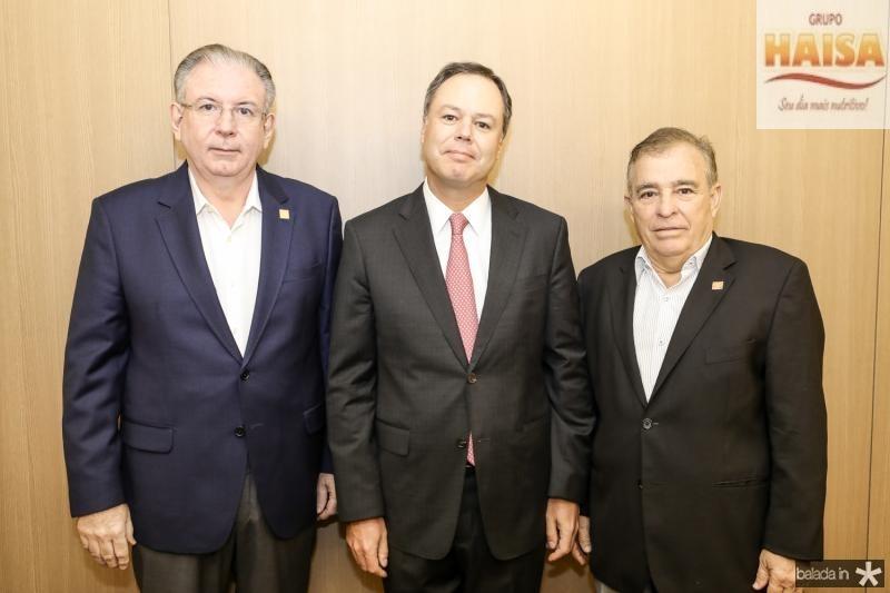 Ricardo Cavalcante, Gregorio Gutierrez e Claudio Targino