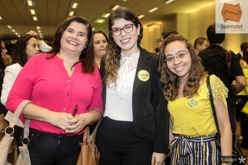 Rivaneila Paula, Priscila Farias e Kellen Castro