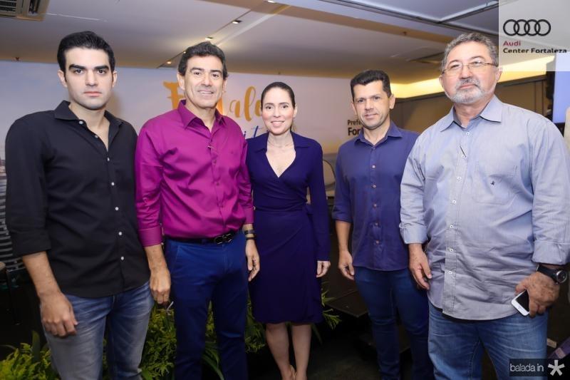 Rodrigo Nogueira, Alexandre Pereira, Agueda Muniz, Erick Vasconcelos e Claudio Ricardo